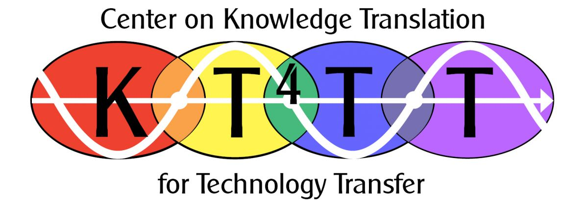 University at Buffalo Center on Knowledge Translation for Technology Transfer (KT4TT)logo