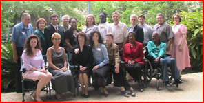 Louisiana Assistive Technology Access Network (LATAN) group photo