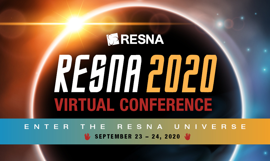 Register Now for RESNA's 2020 Virtual Conference