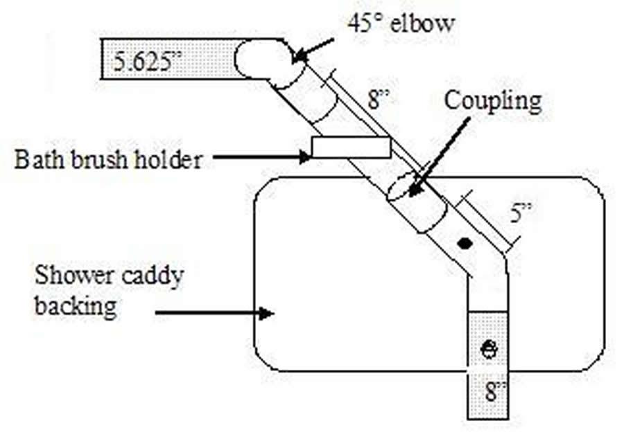bathtub frontal view schematic bathtub