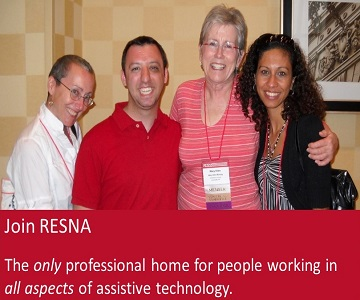 Join RESNA Today